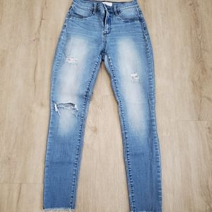 PacSun high rise ankle jegging ankle jeans 26